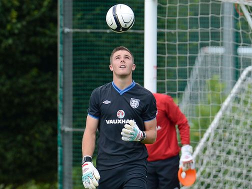 Jack Butland: Could make full international debut against Italy