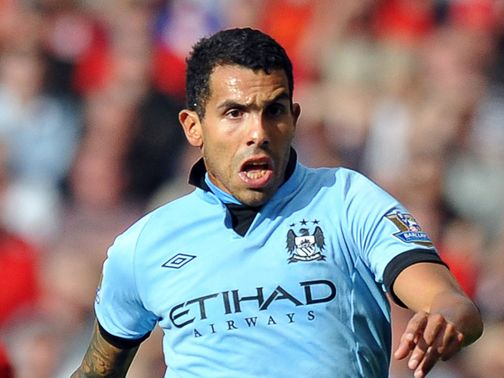 Carlos Tevez: Arrested on suspicion of driving whilst disqualified