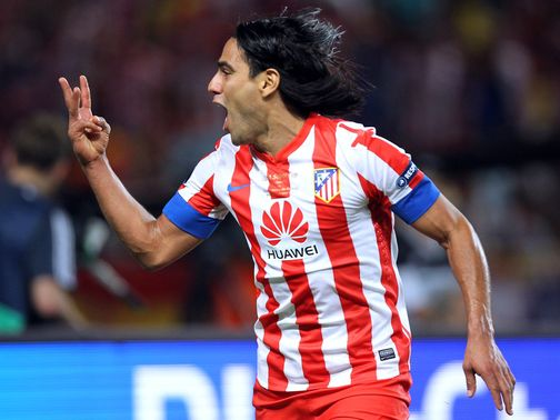 Radamel Falcao: Has scored 10 goals this season