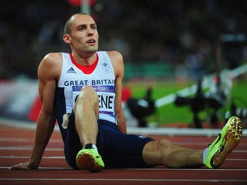 Dai Greene: Finished fourth in the men's 400m hurdles