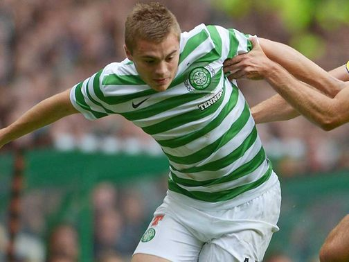 James Forrest: 'Feeling good' ahead of SPL opener