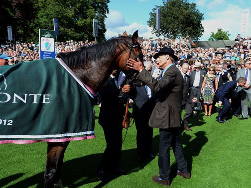 Sir Henry Cecil: Delighted with Frankel