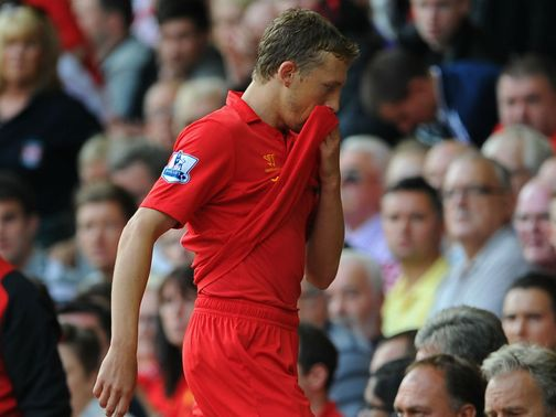 Lucas Leiva: Back in action for Liverpool
