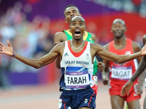 Mo Farah: Double Olympic champion