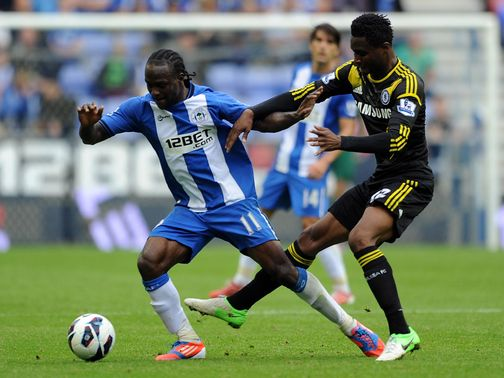 Victor Moses: Joined Chelsea from Wigan