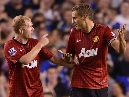 Paul Scholes (left): Welcomes competition