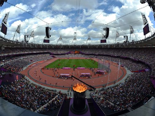 Olympic Stadium: Will host the London Grand Prix