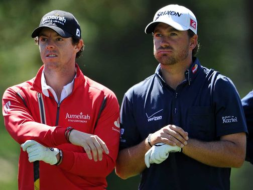 McIlroy and McDowell: Expected to play together