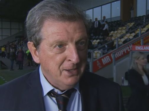 Roy Hodgson: Management style compared to Moyes'