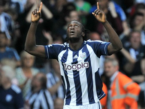 Romelu Lukaku: On loan at the Hawthorns