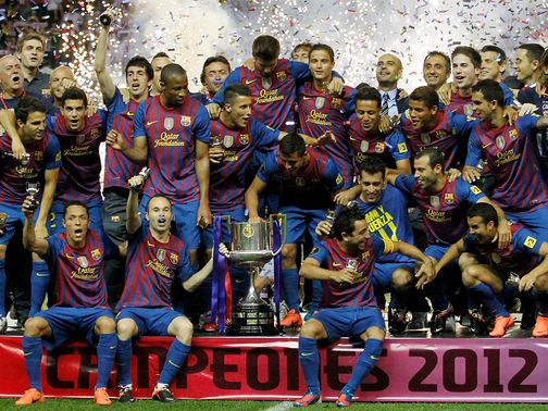 Barcelona: Favourites to claim Europe's top club prize in 2013