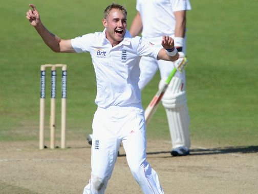 Stuart Broad: Issued statement
