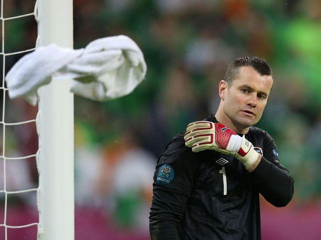 Shay Given: Would like to play for Celtic