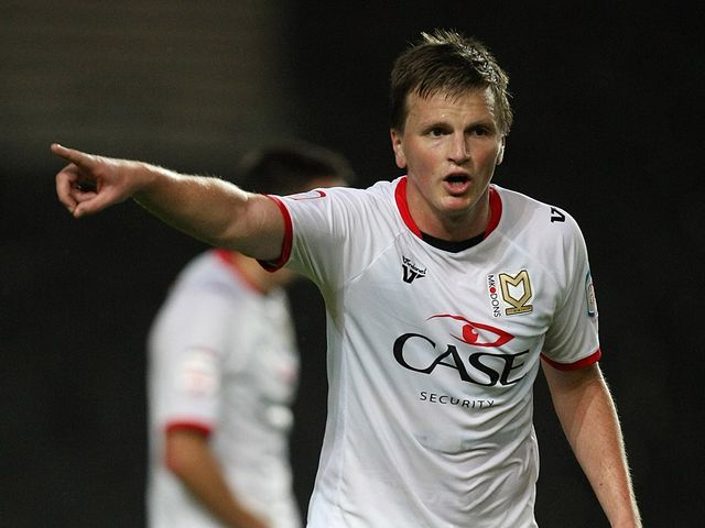Stephen Gleeson: Netted a late winner for MK Dons