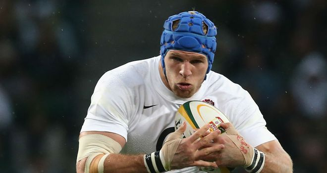 James Haskell: Knows better than to seek revenge off the pitch