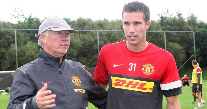 Sir Alex Ferguson: Finally got his man on Friday when a four-year contract was signed with Robin van Persie