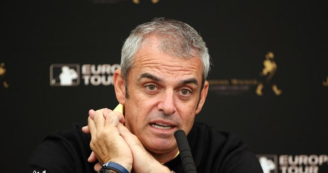 Paul McGinley: In the frame to replace Jose Maria Olazabal as Europe's next captain