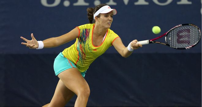 Laura Robson: Takes on Kim Clijsters next at Flushing Meadows