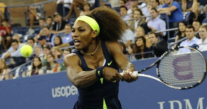 Serena Williams: Stormed into second round