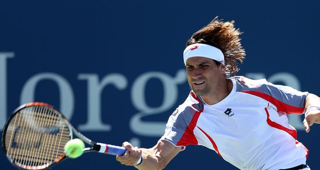 David Ferrer: Defeats Aussie wildcard Lleyton Hewitt to advance