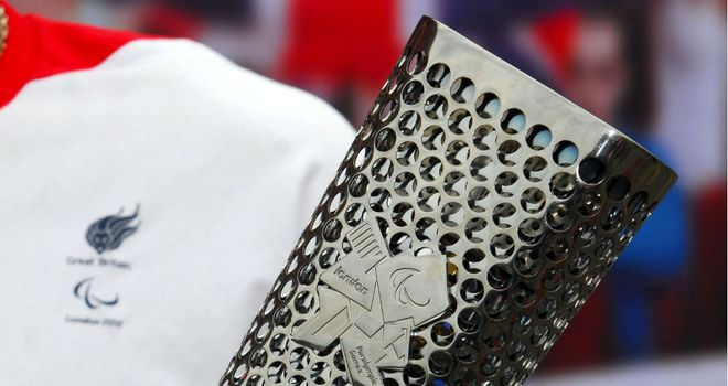 Paralympic Torch: On it's way to London