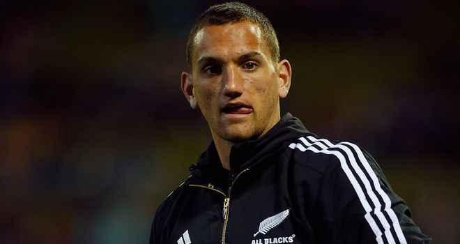 Aaron Cruden: New Zealand fly-half in Dan Carter's absence