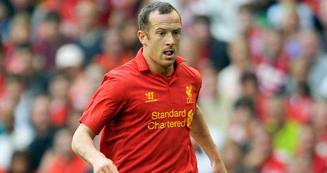 Charlie Adam: Close to sealing a move to Stoke City from Liverpool