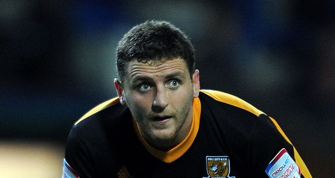 Alex Bruce: Hull City defender in Northern Ireland squad for Portugal game