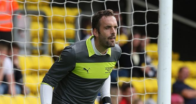 Manuel Almunia: Watford goalkeeper has to try and stop Manchester City