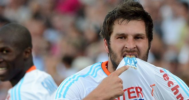 Andre Pierre Gignac: Helped Marseille to victory