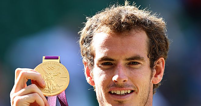 Golden guy: Murray came out on top in an event embraced by the world's best players