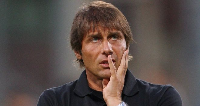 Antonio Conte: Can return when Juventus travel to Palermo on 9th December