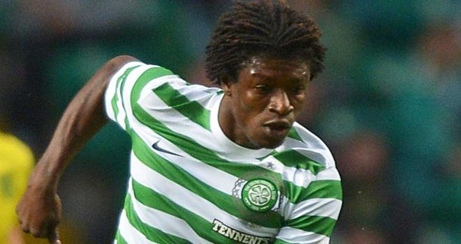Mo Bangura: Celtic striker has rejoined former club AIK Stockholm on loan until December