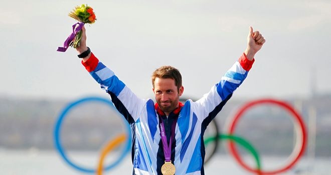 Ben Ainslie: Has been chosen as the British team's flagbearer