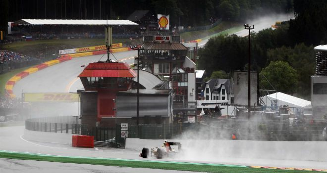 Гран-При Бельгии 2012, Спа. Первая практика.