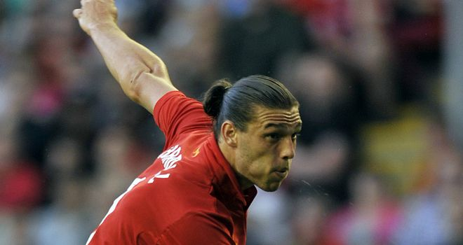 Andy Carroll: Came off the bench to score Liverpool's third goal