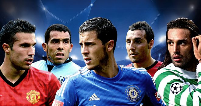 Defending champions Chelsea are in action as the group stage continues