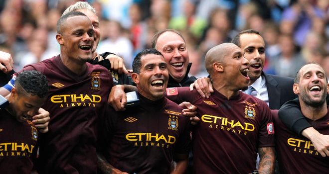 Manchester City: Favourites to win the Premier League