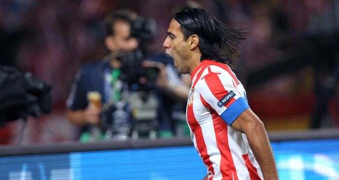 Radamel Falcao: Colombia international striker is key to Atletico Madrid, according to president Enrique Cerezo