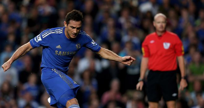 Frank Lampard: Chelsea midfielder has been linked with a move to Los Angeles Galaxy