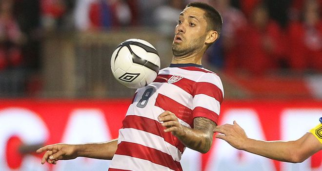 Clint Dempsey: Called up by America