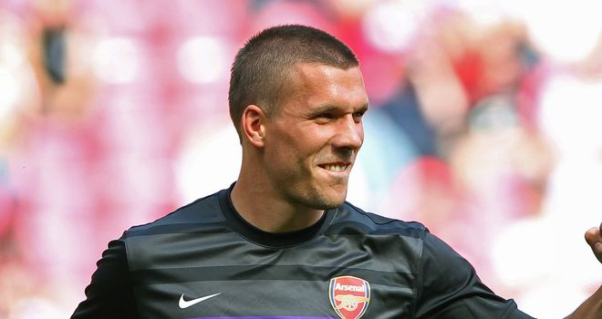 Lukas Podolski: A proven goalscorer at domestic and international level