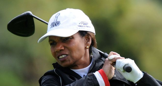 Condoleezza Rice: Has accepted membership at Augusta National
