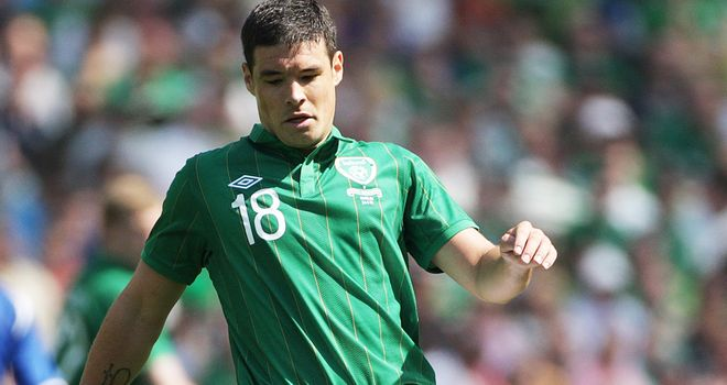 Darren O'Dea: Enjoying his football in North America