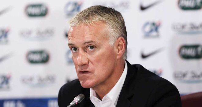 Didier Deschamps: Happy with his men