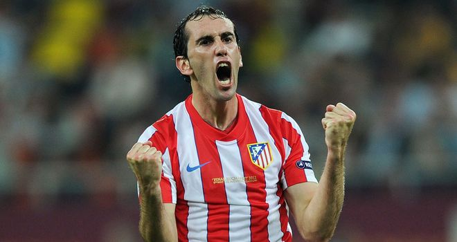 Diego Godin helped Atletico Madrid overcome Porto