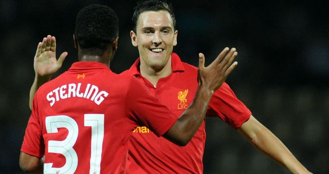 Stewart Downing: The England international earned Liverpool victory over FC Gomel