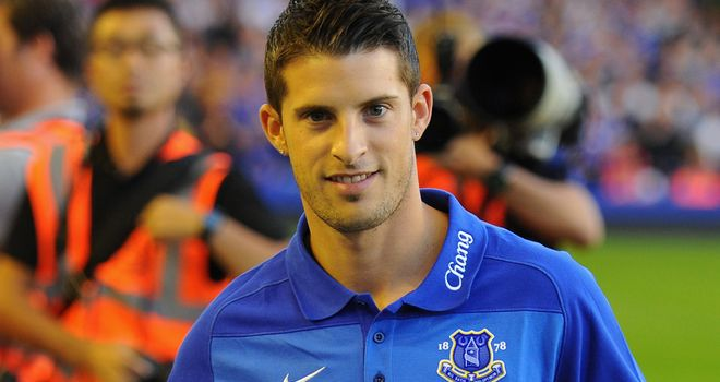 Kevin Mirallas: Looking forward to making his mark in the Premier League