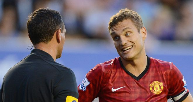 Nemanja Vidic: Manchester United captain has called for focus