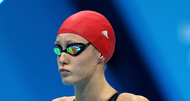 Fran Halsall: Wasn't happy with morning swim